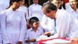 Phó Thủ tướng Chính phủ - Trương Hòa Bình dự lễ khai giảng năm học mới tại Bến Lức