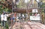 Tiền Giang: Cháy cơ sở sản xuất kẹo dừa trên cồn Thới Sơn