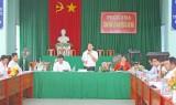 Phúc tra các xã văn hóa ở huyện Thủ Thừa