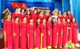 Bà Nguyễn Thị Dạ Thảo tái đắc cử Chủ tịch Hội Liên hiệp Phụ nữ huyện Thủ Thừa