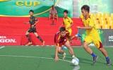 Quả bóng cúp Bia Sài Gòn khu vực Long An bắt đầu lăn