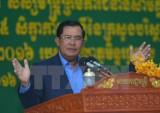 Thủ tướng Campuchia cảnh báo đàn áp cuộc biểu tình của CNRP