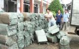 Đức Hòa bắt quả tang vụ buôn lậu thuốc lá ngoại với số lượng lớn
