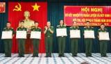 Bộ Chỉ huy Quân sự tỉnh Long An khen thưởng 35 tập thể, cá nhân