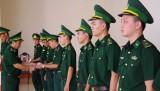 Bộ đội Biên phòng Long An trao quyết định bổ nhiệm và điều động sĩ quan năm 2016