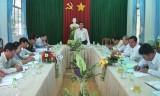 HĐND tỉnh Long An giám sát việc thực hiện nghị quyết tại Cần Giuộc