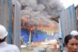Hà Nội: Lại cháy dữ dội thiêu rụi khu lán trại 400m vuông ở Hoàng Mai