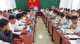Sở Nội vụ kiểm tra công tác cải cách hành chính tại các huyện Đồng Tháp Mười