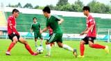 Trong trận tập huấn Giải Vô địch U21 quốc gia: Long An & Cần Thơ 4 – 1