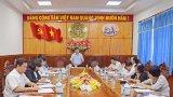 Thường trực Tỉnh ủy: Giao ban với MTTQ và các tổ chức đoàn thể tỉnh quí III/2016