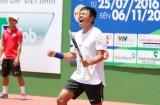 Hoàng Nam lần đầu đăng quang ở giải nhà nghề