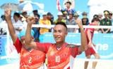 Việt Nam đang dẫn đầu tại Đại hội thể thao bãi biển châu Á
