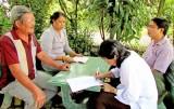 Bến Lức giám sát việc thực hiện bảo hiểm y tế toàn dân