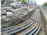 TP.Tân An sẽ ngầm hóa cáp viễn thông tại 3 tuyến đường chính