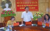 Đoàn khảo sát Ban Dân vận Trung ương làm việc tại Long An