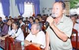 Có 410 lượt ý kiến của cử tri kiến nghị đến HĐND tỉnh Long An