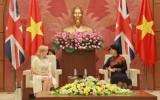 Chủ tịch Quốc hội Nguyễn Thị Kim Ngân tiếp Phó Chủ tịch Hạ viện Anh