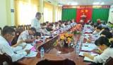 Tân Thạnh: Chọn xã phấn đấu đạt chuẩn nông thôn mới năm 2017