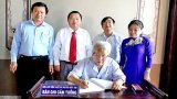 Nguyên Chủ tịch nước Trần Đức Lương viếng Khu lưu niệm Luật sư Nguyễn Hữu Thọ