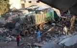 Đoàn xe cứu trợ của Liên Hợp Quốc bị tấn công ở Syria là do không kích