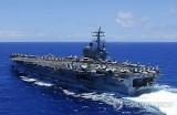 Mỹ cử soái hạm trong đội tàu sân bay sang Hàn Quốc tập trận
