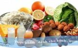 Chế độ dinh dưỡng cho người bị bệnh gút