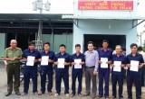 Châu Thành ra mắt Đội Dân phòng Honda khách phòng, chống tội phạm