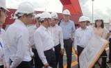 Nhà đầu tư tìm hiểu thực tế một số dự án ở tỉnh Long An