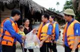 Tổ chức đội thanh niên tình nguyện khắc phục hậu quả mưa lũ