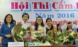 Sở Lao động – Thương binh và Xã hội đoạt giải nhất Hội thi cắm hoa