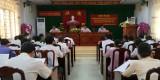 Kiến Tường giới thiệu nguồn quy hoạch cán bộ, lãnh đạo quản lý nhiệm kỳ 2020-2025