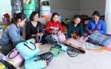 Hội Phụ nữ huyện Cần Giuộc thực hiện tốt công tác giải quyết việc làm, giảm nghèo
