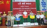 Đội Hội sở đoạt giải nhất toàn đoàn Hội thao Agribank Long An