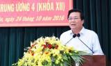 Tỉnh ủy Long An báo cáo kết quả Hội nghị Trung ương 4 khóa XII