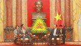 Chủ tịch nước Trần Đại Quang tiếp Thống đốc tỉnh Nagano - Nhật Bản