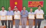 Khen thưởng 20 tập thể, cá nhân trong công tác thi hành án dân sự năm 2016
