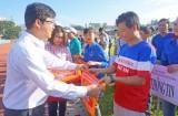 36 đội tham gia giải bóng đá Đoàn thanh niên và Công đoàn viên chức tỉnh Long An