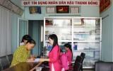 Quỹ tín dụng nhân dân phát huy lợi thế gần dân