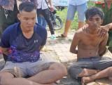 Truy đuổi hơn 14km, bắt giữ 2 tên cướp chạy vào đường cao tốc TP.HCM- Trung Lương