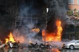 """Quán karaoke bị cháy trên phố Trần Thái Tông đang hoạt động """"chui"""""""
