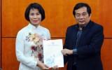Bà Lê Thị Hoàng Yến nhậm chức Phó Tổng cục trưởng Tổng cục TDTT