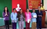 Vĩnh Hưng: 100% hộ dân ấp Láng Lớn đăng ký xây dựng gia đình văn hóa