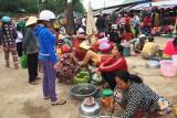 Tân Hưng: Nhộn nhịp chợ cá đồng mùa lũ