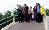 Khánh thành cầu Liên xã Tân Thành và thị trấn Thủ Thừa