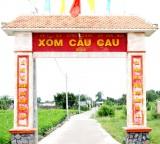 Chuyện về những chiếc cổng ấp văn hóa