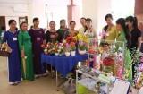 Hội Liên hiệp Phụ nữ Việt Nam tỉnh Long An trưng bày các gian hàng do nữ làm chủ