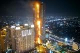 Indonesia: Lửa khói nghi ngút xuất hiện tại tòa cao ốc Neo SOHO