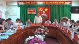 Bí thư Tỉnh ủy - Phạm Văn Rạnh kiểm tra công tác thực hiện Nghị quyết Đại hội Đảng các cấp tại Đức Hòa