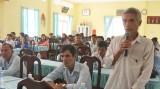 Cần Giuộc: Đại biểu HĐND tỉnh đơn vị số 12 tiếp xúc cử tri