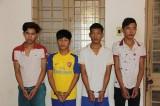 4 thanh niên cùng xóm gây liên tiếp 6 vụ cướp lúc nửa đêm